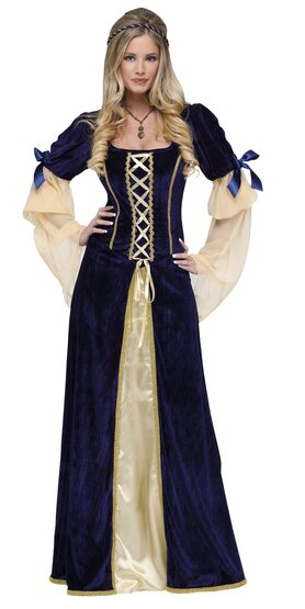 Medieval Maiden Faire Plus Size Costume