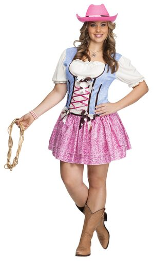 Sexy Rodeo Sweetie Cowgirl Plus Size Costume