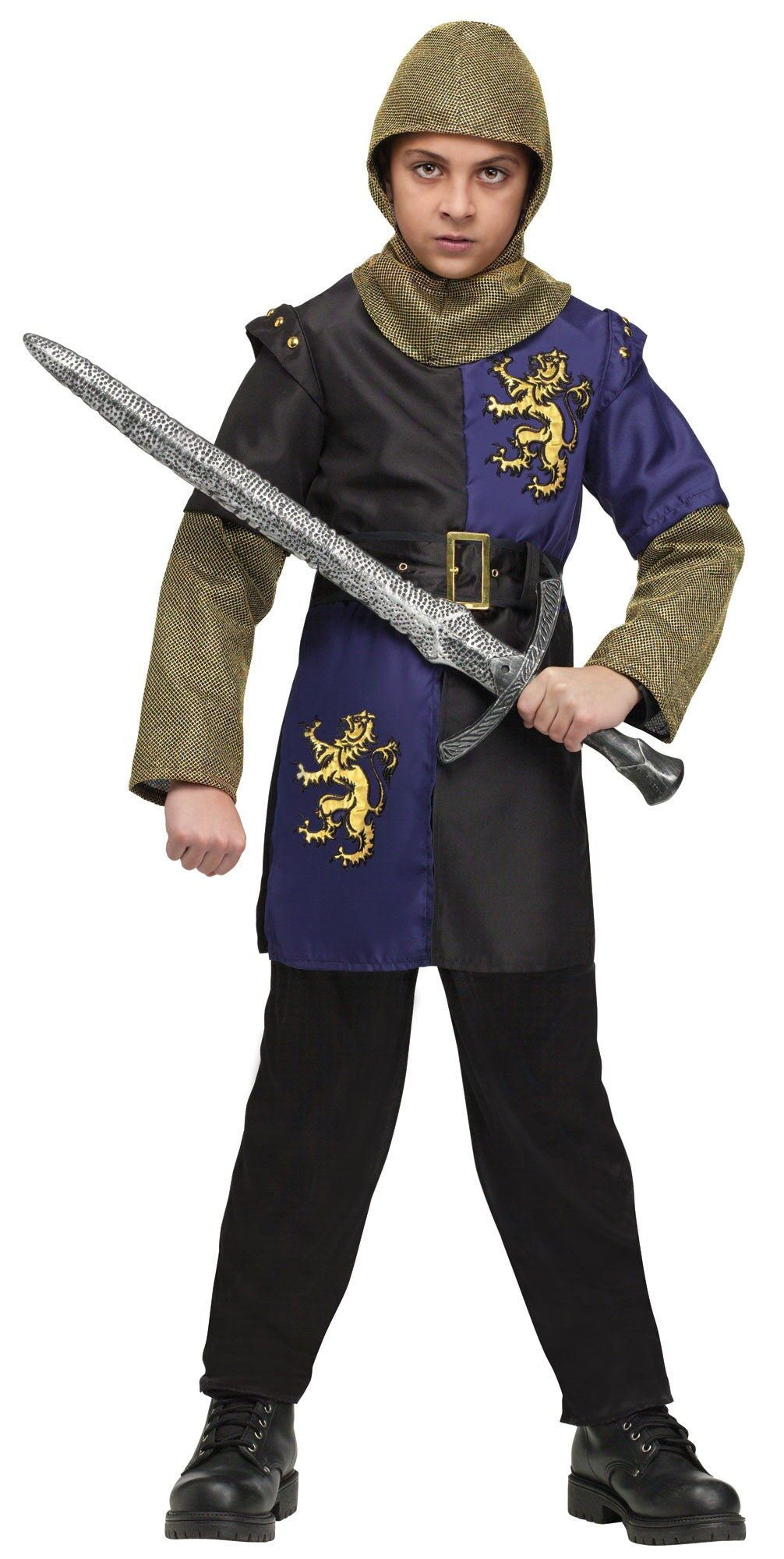Boys Medieval Renaissance Knight Kids Costume  sc 1 st  Mr. Costumes & Boys Medieval Renaissance Knight Kids Costume - Mr. Costumes