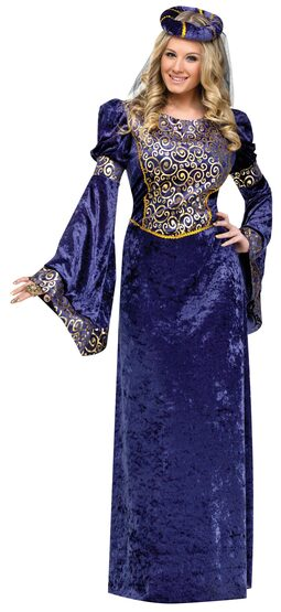 Medieval Renaissance Maiden Adult Costume