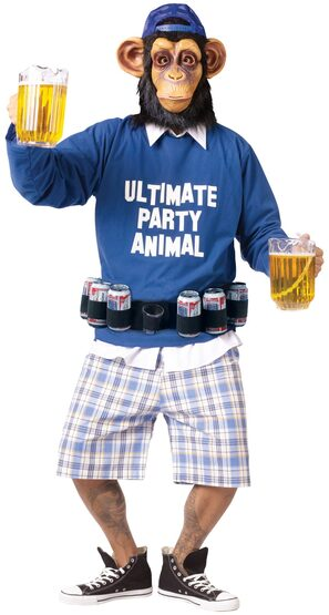 Party Animal Monkey Adult Costume