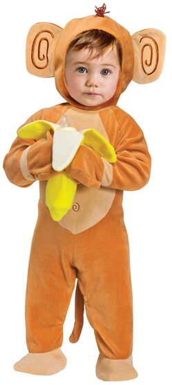 Going Bananas Monkey Baby Costume