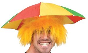 Clown Umbrella Hat