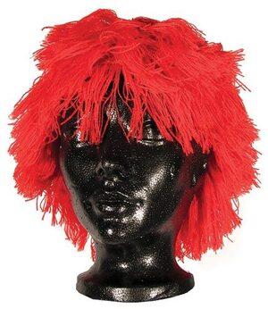 Kids Red Clown Wig