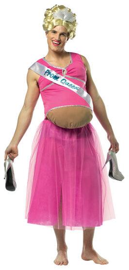 Funny Pregnant Bodysuit Adult Costume