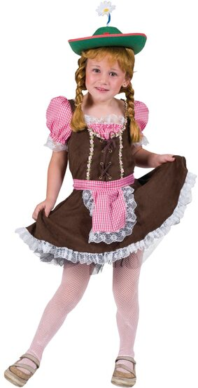 Alps Away Storybook Kids Costume