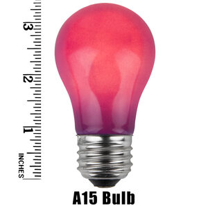 A15 Purple Opaque Replacement Bulbs