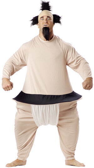 Mens Funny Sumo Wrestler Adult Costume