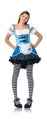 Leg Avenue Alice in Wonderland Magic Mushroom Teen Costume