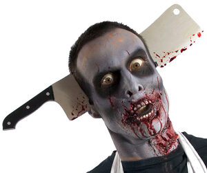Zombie Cleaver Headpiece