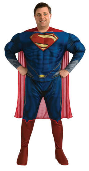 Man of Steel Deluxe Superman Plus Size Costume