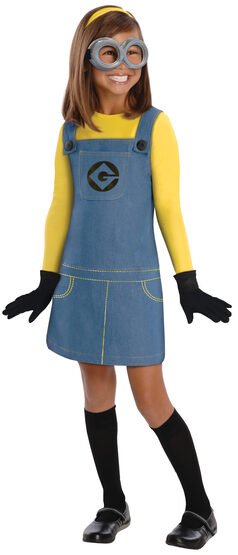 Despicable Me Minion Girl Kids Costume