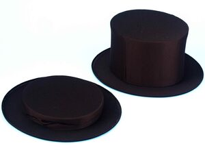 Collapsible Magicians Top Hat