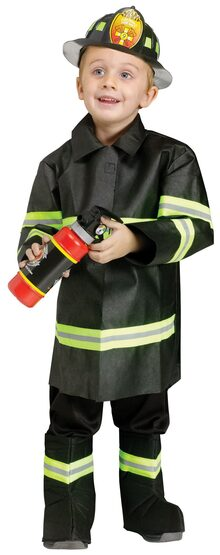 Fire Fighting Toddler Kids Costume