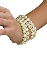 Flapper Bead Bracelet