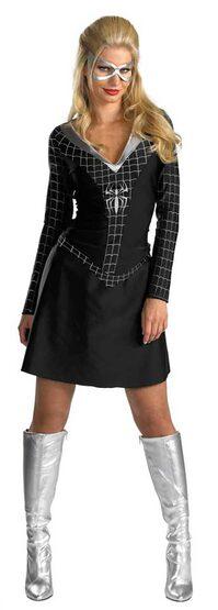 Classic Black Spidergirl Adult Costume