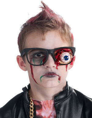 Zombie Glasses with Bulging Eye