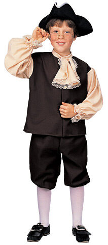 Historical Colonial Boy Kids Costume