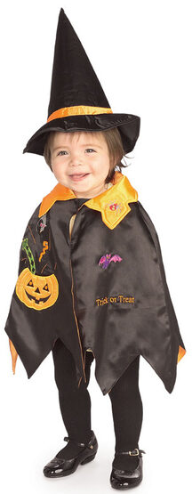 Pumpkin Witch Toddler Baby Costume