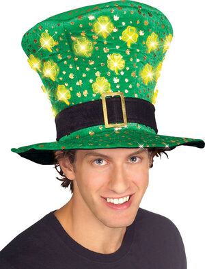St. Patricks Light Up Hat