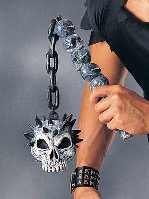 Renaissance Warrior Skull Mace