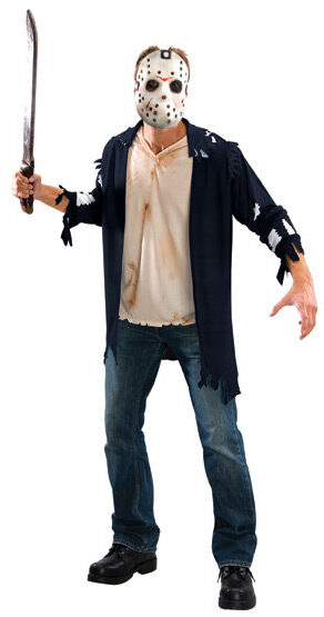 Scary Friday the 13th Jason Adult Costume