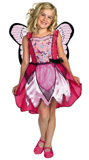 634293c8947 Kids Barbie Mariposa Toddler Butterfly Costume - Mr. Costumes