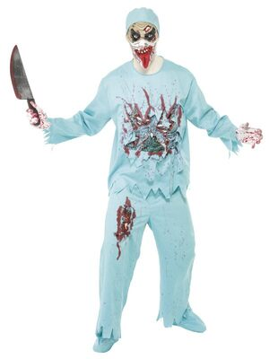 Doctor Blood and Guts Zombie Adult Costume