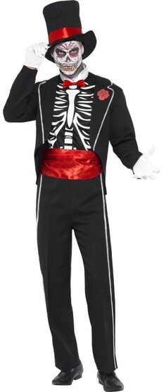 Day of the Dead Skeleton Adult Costume