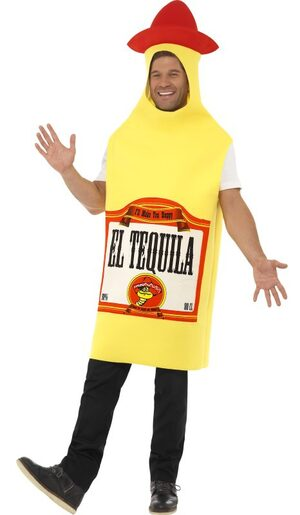 El Tequila Funny Adult Costume