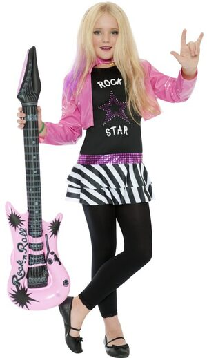Glammin' Girl Rockstar Kids Costume