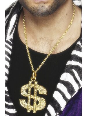 Pimp Dollar Necklace
