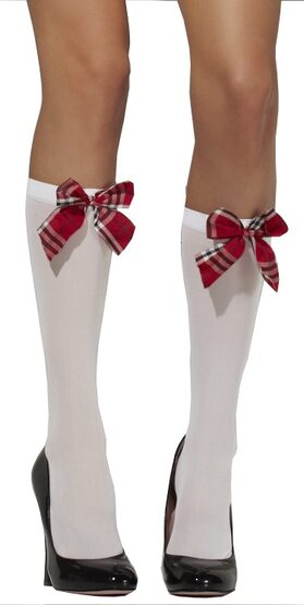 School Girl Knee High Stocking
