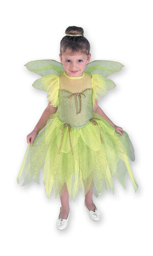 Kids Little Princess Disney Tinkerbell Costume