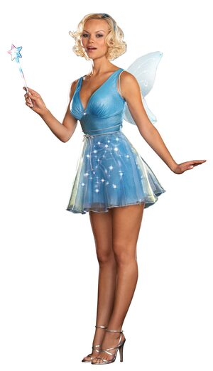 True Blue Sexy Fairy Costume