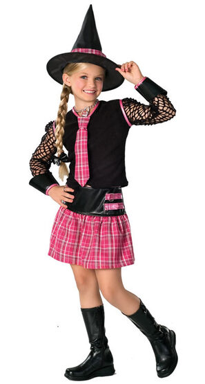 Drama Queen Ex-Spelled Kids Witch Costume