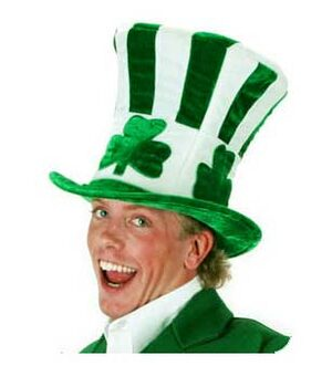 Shamrock Uncle Sam Irish Hat