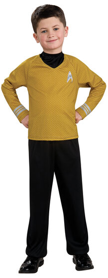 Captain Kirk Star Trek Kids Costume