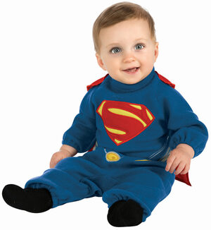 Man of Steel Superman Baby Costume