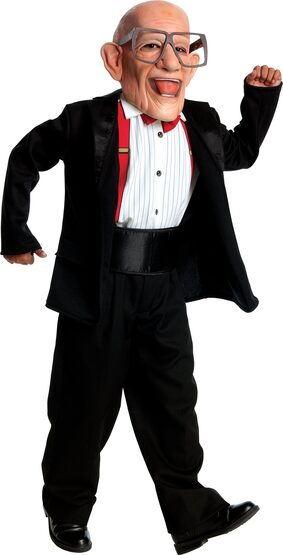 Six Flags Mr Six Kids Costume