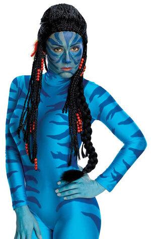 Neytiri Deluxe Avatar Wig
