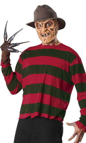 Teen Freddy Krueger Mens Costume Set
