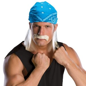 Wrestling Star Adult Wig