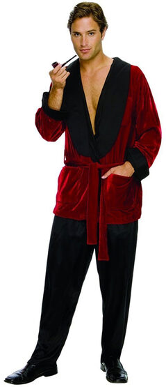 Hugh Hefner Adult Playboy Costume