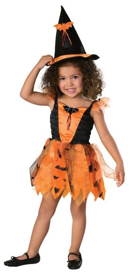 Halloween Witch Toddler Costume