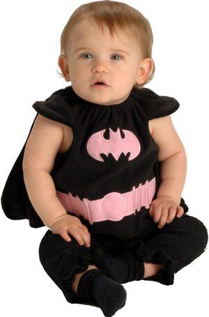 Batgirl Bib Baby Costume