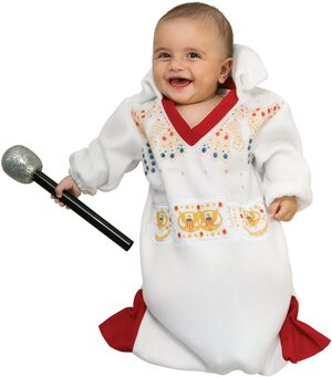 Bunting Elvis Baby Costume