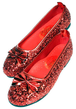 Dorothy Deluxe Adult Large Shoes