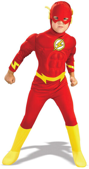 Flash Muscle Chest Deluxe Kids Costume