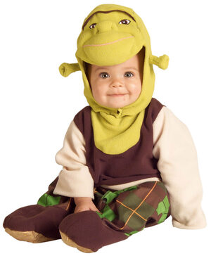 Infant Shrek Baby Costume